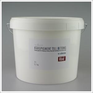 Fargpigment 3L rod