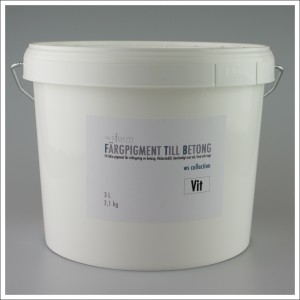 Fargpigment 3L vit