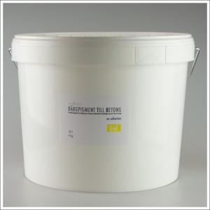 Fargpigment till betong 10 Liter gul