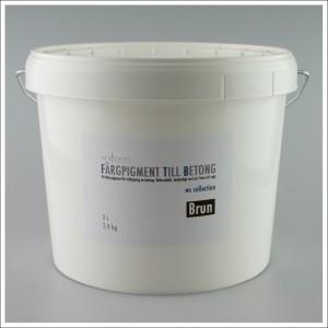 Fargpigment till betong 3 Liter brun
