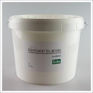 Fargpigment till betong 3 Liter gron