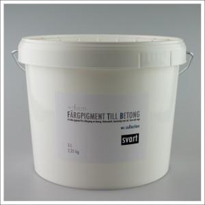 Fargpigment till betong 3 Liter svart
