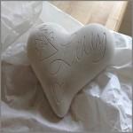 Specialtillverkad gjutform hjärta
