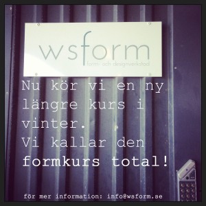 Formkurs total ws form