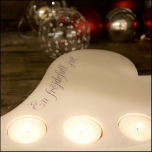 hjärta med ljus jul ws design