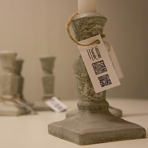 ljusstake betong