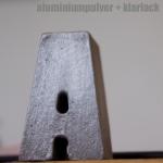 Aluminiumpulver och klarlack ws och company