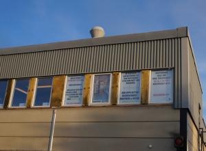WS och Company fönster