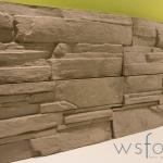 Gjutform för väggsten betong