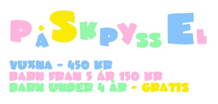 PÅSKPYSSEL i linköping för både barn och vuxna