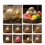 Gjuta ägg påsk