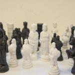Gjutform schack vikingar