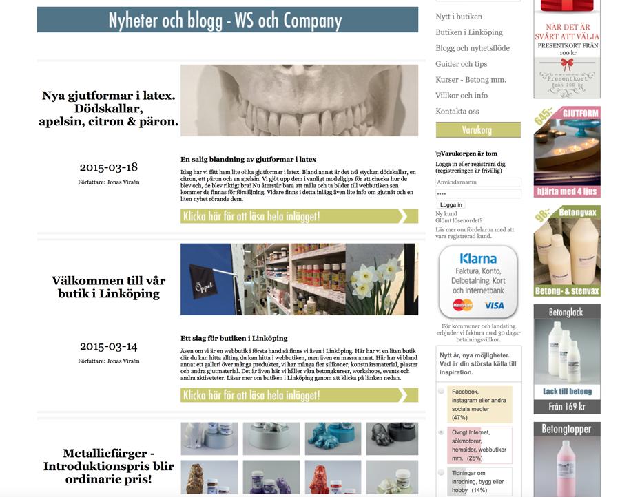 WS och companys blogg